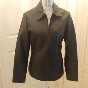 Ladies Genuine  Leather Size Large